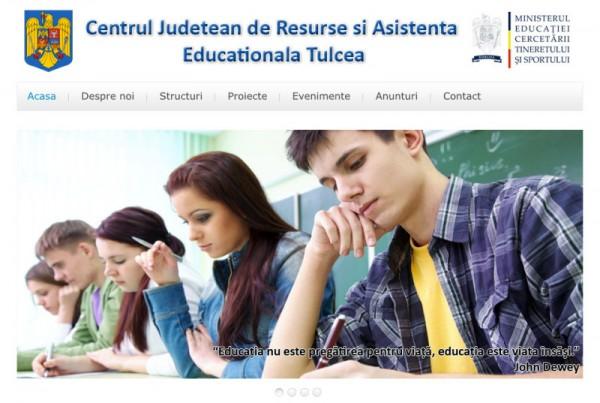Centrul Judetean de Resurse si Asistenta Educationala Tulcea
